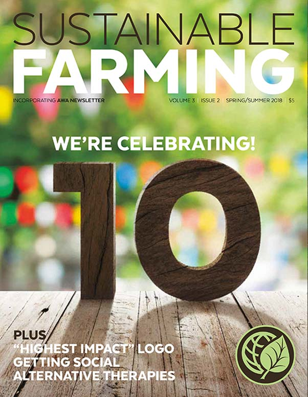Sustainable Farming Magazine Spring/Summer 2018