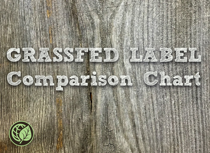 Grassfed Lable Comparrison Chart. Blog Post